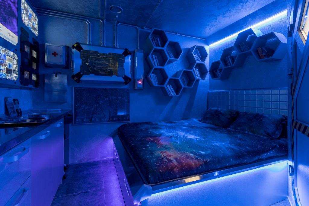 Гостиница - космический корабль